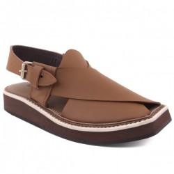 "Mens ""BRUCE"" Peshawari Kaptaan Leather Sandals"