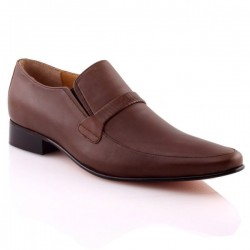 Mens 'Messio' Leather Formal Dress Laced Up Shoes
